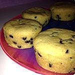 recette Muffins pommes / chocolat et son coeur coulant