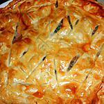recette Tourte au confit de canard