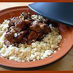 recette Tajine de poulet aux abricots