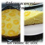 recette Gâteau renversé à la clémentine