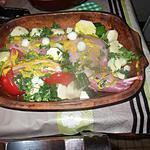 recette lapin et morceaux de lard au four avec une idée de pentrez  revisitée