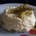 recette risotto aux asperges vertes et mascarpone