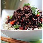 recette ~Boeuf à la coréenne~