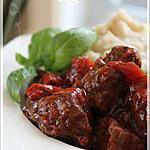 recette ~Sauté de boeuf à la méditerranéenne~