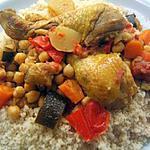 recette Couscous à la volaille