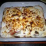 recette Gratin de blette au parmesan
