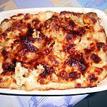 recette UOVE  SODE  E  PATATE  ALLA  BECHAMEL (oeufs durs et pommes de terre)