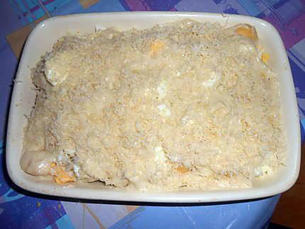 Uove sode e patate alla bechamel (ouefs durs et patate) 430