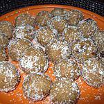 recette Oundé gréo(boules de semoule de blé)