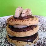 recette roulé nutella-banane façon millefeuilles