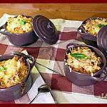recette Pâtes au thon gratinées à la tomate