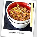 recette Riz d'inspiration chinoise à la viande hachée