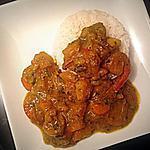 recette Colombo de crevettes: séjour aux Antilles