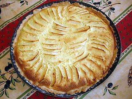 Recette de tarte normande aux pommes par lyly59 - Recette tarte au pomme normande ...