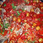 recette Langue de boeuf sauce aux olives