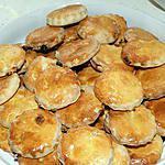 recette Scones aux raisins secs et abricots secs