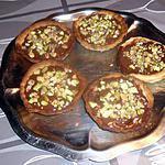recette Tartelettes au chocolat eclats de pistache