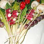 recette Bouquet de légumes