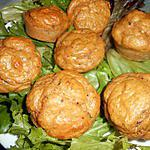 recette Muffins sardine a la tomate et fromage