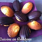 recette Madeleines coques chocolat