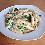 recette Penne aux brocolis et gorgonzola