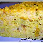 pudding : recette PUDDING AU RESTE DE CAKE SALE