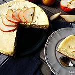 recette Cheesecake à la poire