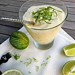 recette Mousse au citron vert