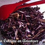 recette Chou rouge aux noix
