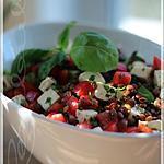 recette ~Salade de lentilles à la méditerranéenn~