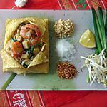 recette recette du Phad thai