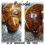 recette Brioche tortue et crocodile
