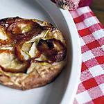 recette Tarte aux oignons rouges caramélisés