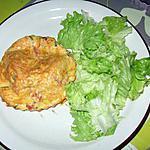 Mini-quiches sans pâte aux lardons