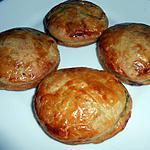 recette Feuilletés Champignons épinards