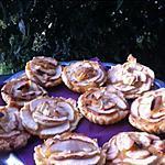 recette Tartelettes aux pommes et amandes effilées