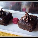 recette fondant au chocolat crème de marrons et nutella