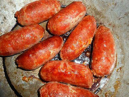 Recette de saucisse et chorizo aux lingots du nord - Chorizo a griller recette ...