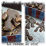 recette Biscuits super héros