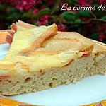 recette Tarte aux maroilles et jambon de pays