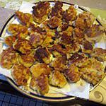 recette galettes de crabe