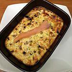 recette Clafoutis saumon poireau aneth