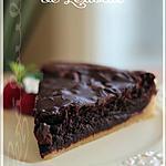 recette ~Tarte-Brownie~