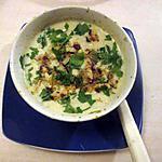 recette potage avec feuilles de chou fleur trouvé sur le blog vive la soupe   recette de nathou cuisine  et les hellebores