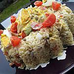 recette Salade riz à la macédoine