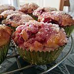 Muffins citron-framboise