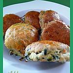 recette Scones au saumon et aux épinards