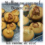 recette Muffins au caramel beurre salé