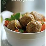recette ~Ragoût de boulettes à la marocaine~