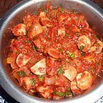recette Champignons a la tomate